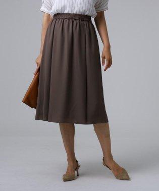 【洗える】ミモレ丈フレアスカート