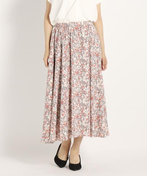 DVシャドーフラワー スカート