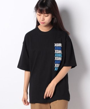 BARRAGE OF LOGO DROPSHOULDER TEE