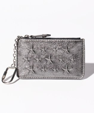 【JIMMY CHOO】コインケース EMBOSSED STARS ON METALLIC NAPPA