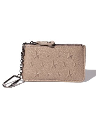【JIMMY CHOO】コインケース EMBOSSED STARS ON GRAINY LEATHER