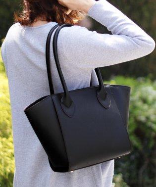 [Mia Borsa]牛床革レザーハンドバッグ