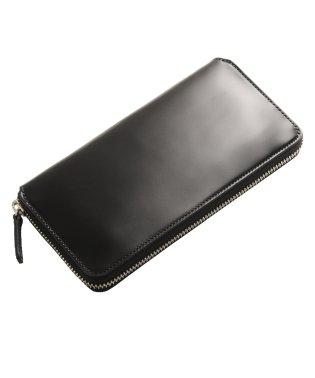 [PRAIRIE]コードバンレザーラウンドファスナー長財布