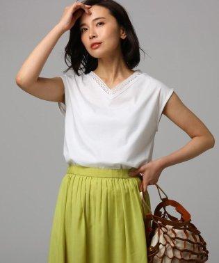 【洗える】シルケットスムースTシャツ