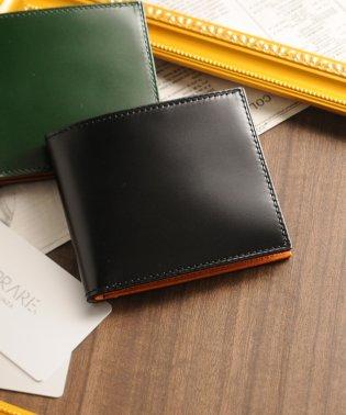 [PRAIRIE]日本製二つ折り財布コードバンレザー両カードタイプ