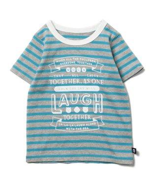 """highking × こども ビームス / 別注 """"世界中のこどもたちが"""" Tシャツ"""