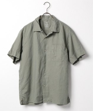SKU S/S COTTON LINEN VACATION SHIRT
