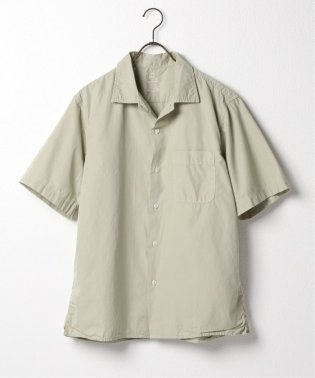 SKU S/S POPLIN SIMPLE CAMP SHIRT