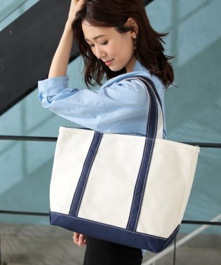 ★【L.L.BEAN】BOAT&TOTE  ZIP-TOP