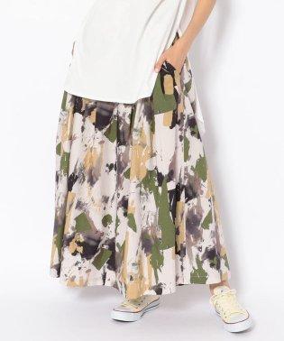 DROIT BELLO(ドロイトベロ)ペイント柄SKT/スカート