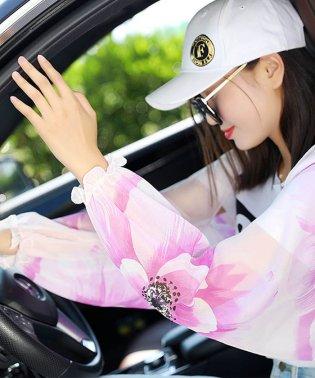 プリンスアウター サマー アウトドア UV対策 カバー長袖 日焼け防止 アウター 涼しい 即納