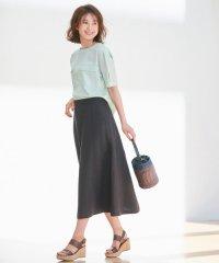【洗える】LINEN OX スカート