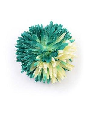 ゆかた姿を引き立てる 髪飾り ピンポンマム 2019年新作 コサージュ