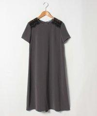 【eclat9月号掲載】ドレス DOUBLE WEFT FREDDIE