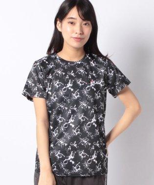 【FILA】PEメッシュペイント柄Tシャツ