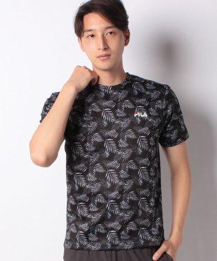 【FILA】鹿の子 総柄半袖Tシャツ