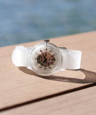 TIMEX × BEAMS / 別注 Original Camper スケルトン 3針ウォッチ