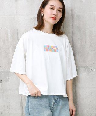 ロゴ刺繍ビックTシャツ