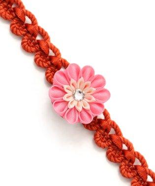 お花のワッフル飾り紐(かざりひも) 帯締め