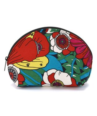BOHEMIANS/ボヘミアンズ BLOOMING INDIA SHELL POUCH/ポーチ