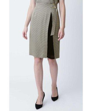 ◆ミニチドリプリーツコンビスカート