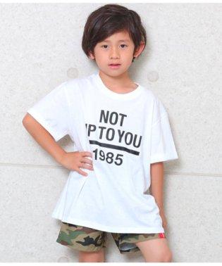 ロールアッププリントBIG-Tシャツ