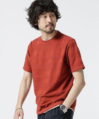 ランダムボーダーフェイクレイヤードTシャツ