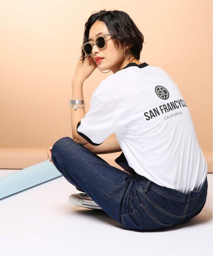 【SAN FRANCYCLE】Ringer-T:Tシャツ