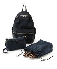 【19AW】デイパック&お財布バッグ&巾着ポーチの3点セット