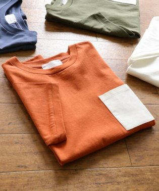 Corduroy Pocket T-shirts