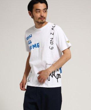 マークゴンザレス別注 総柄プリント 半袖 Tシャツ