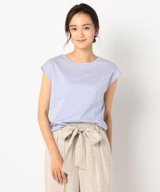 リネン混フレンチTシャツ