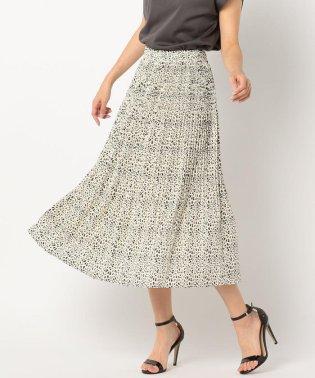 アニマルプリントプリーツスカート