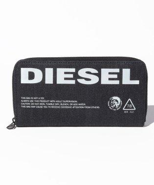 DIESEL X06140 PR413 T6065 ラウンドファスナー長財布