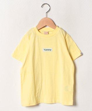 接触冷感 ボックスロゴ刺しゅうTシャツ