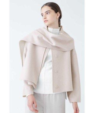 ◆2TONE リバーストール付きジャケット