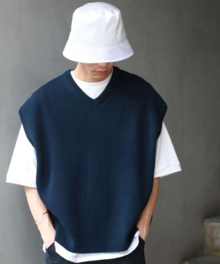 crepuscule /クレプスキュール/KNIT VEST SP/別注ニットベスト