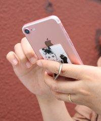 〈HAPPY FACE/ハッピーフェイス〉Smartphone Ring/オードリー風スマホリング