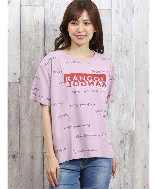 カンゴール/KANGOL ロゴプリント半袖Tシャツ