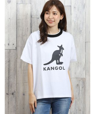 カンゴール/KANGOL リブライン半袖Tシャツ