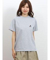 【WEB限定販売】カンゴール/KANGOL ワンポイント刺繍半袖Tシャツ