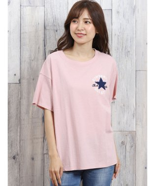 コンバース/CONVERSE パッチロゴサガラ刺繍半袖Tシャツ