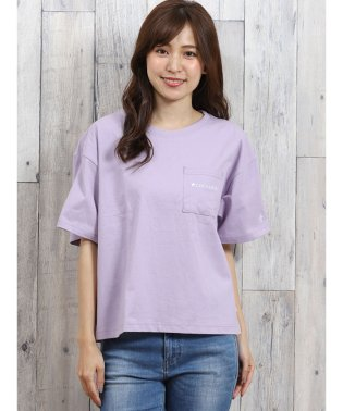 コンバース/CONVERSE ポケット付コーポレート刺繍半袖Tシャツ