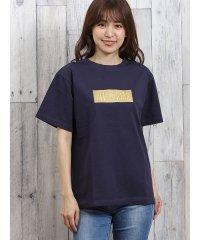 コンバース/CONVERSE ボックスロゴ刺繍半袖Tシャツ
