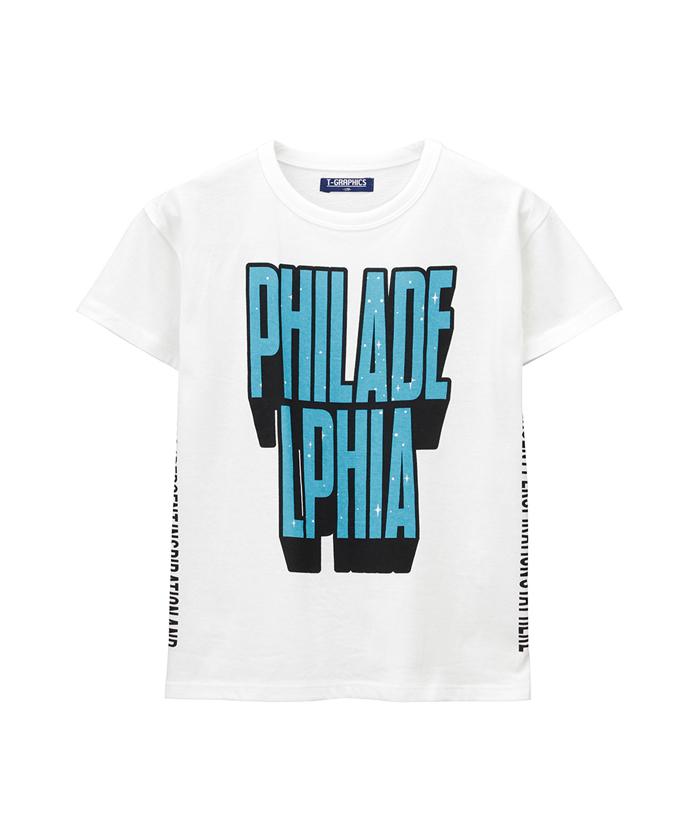 T-GRAPHICS アートストリート Tシャツ 19410802