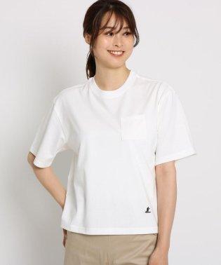 【洗える】【Lサイズあり】【汗染み軽減加工】COOLMAX 胸ポケTシャツ