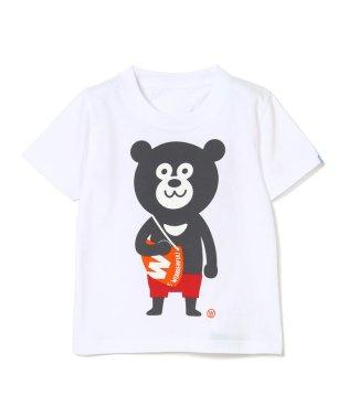 FUJI ROCK FESTIVAL'18 × BEAMS / The Wonderful! design works. ベア Tシャツ (100~140cm)