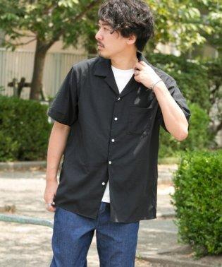 イージーケア/サラサラオープンカラーシャツ