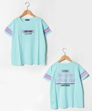 USAコットン 袖メッシュTシャツ