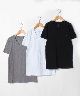 DIESEL(apparel) 00SHGU 0JAQX E3843 T-shirt 3 pack